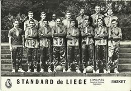 Basket -- Standard De Liège.     (2 Scans) - Basketball