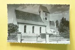V10-67-bas Rhin--muttersholtz- Eglise Protestante--1955- - Mutzig