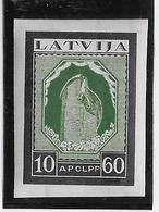 Lettonie Poste Aérienne N°23 - Non Dentelé - Neuf * Avec Charnière - TB - Latvia