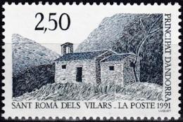 Frankreich, 1991,  421,  MNH **,  Kapelle Von Sant Romà Dels Vilars - Ungebraucht