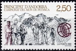 Frankreich, 1991,  428,  MNH **, Pétanque-Weltmeisterschaft. - Ungebraucht