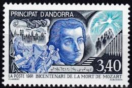 Frankreich, 1991,  429,  MNH **,  Wolfgang Amadeus Mozart. - Ungebraucht