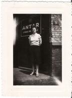 ANCIENNE PHOTO ROUBAIX 1958 PUB ANTAR HUILE - Lieux