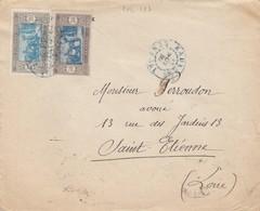 LETTRE. SENEGAL. 1930. KAOLACK POUR ST ETIENNE . /   2 - Sénégal (1887-1944)