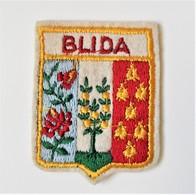 Ecusson Brodé Tissu BLIDA Algérie - Blazoenen (textiel)