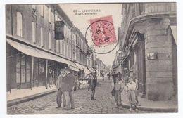 LIBOURNE Rue Gambetta (circulée) - Libourne