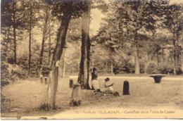 CPA - L'ISLE-ADAM - LA FORET - CARREFOUR DE LA TABLE DE CASSAN - L'Isle Adam