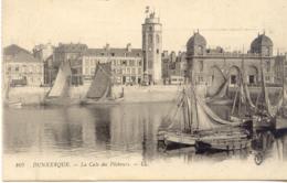 CPA - DUNKERQUE - LA CALE DES PECHEURS (1916) - Dunkerque