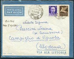 1943 Italy Post Militare 155 FPO Airmail Cover - Modena - Marcophilia