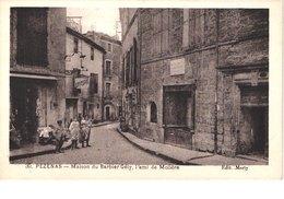 FR34 PEZENAS - Marty 30 - Maison Du Barbier Gély - Animée - Belle - Pezenas
