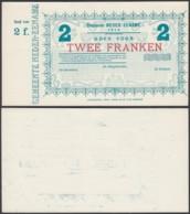 BELGIQUE 1914 BILLET DE NECESSITE DE AUDENAERDE 2 Fr (DD) DC-5018 - Belgio