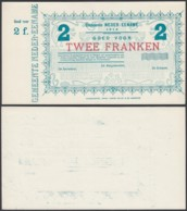 BELGIQUE 1914 BILLET DE NECESSITE DE AUDENAERDE 2 Fr (DD) DC-5018 - Otros