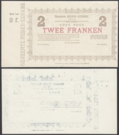 BELGIQUE 1914 BILLET DE NECESSITE DE AUDENAERDE 2 Fr (DD) DC-5019 - Otros