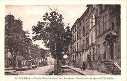 FR34 PEZENAS - Marty 38 - Cours Molière - Animée - Belle - Pezenas