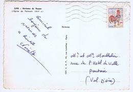 CHARENTE-MARITIME - Flamme Muette Ondulée à Gauche COZES Du 19 - 7  1985 - Marcophilie (Lettres)