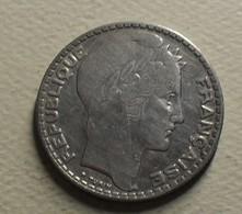 1933 - France - 10 FRANCS, Turin, Argent, Silver, KM 878, Gad 801 - K. 10 Franchi