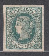 Cuba Sueltos 1866 Edifil 15 ** Mnh - Cuba (1874-1898)
