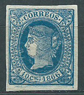 Cuba Sueltos 1866 Edifil 14 ** Mnh - Cuba (1874-1898)