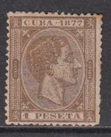 Cuba Sueltos 1877 Edifil 43 (*) Mng - Cuba (1874-1898)