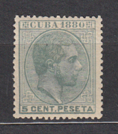 Cuba Sueltos 1880 Edifil 56 ** Mnh - Cuba (1874-1898)