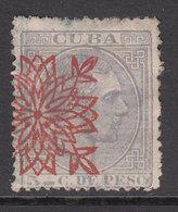Cuba Sueltos 1883 Edifil 86 O - Cuba (1874-1898)