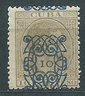 Cuba Sueltos 1883 Edifil 81 * Mh - Cuba (1874-1898)
