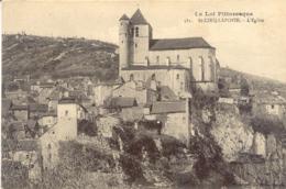 CPA - ST CIRQ-LAPOPIE - L'EGLISE - France