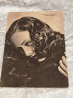 PAULETTE Goddard Studio Chaplin, Cartolina,, No Circolata Del 1939 - Actors