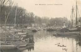 CPA 56 Morbihan Belle Ile En Mer La Palais Le Bassins à Flot - Belle Ile En Mer