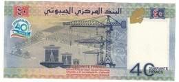 Dijbouti 40 Francs 2017 Commemorative UNC - Gibuti