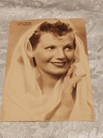 LAURA SOLARI Foto Emanuel,, No Circolata Del 1939 - Attori