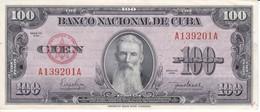 BILLETE DE CUBA DE 100 PESOS DEL AÑO 1950 SIN CIRCULAR (BANKNOTE) UNCIRCULATED - Cuba