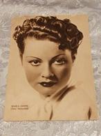MARIA DENIS Foto Venturini,, No Circolata Del 1939 - Acteurs