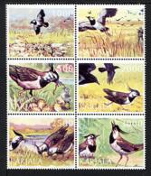 CARELIE KARELIA 1999, OISEAUX / BIRDS, 6 Valeurs Se-tenant, NEUFS / MINT. R1124 - Viñetas De Fantasía