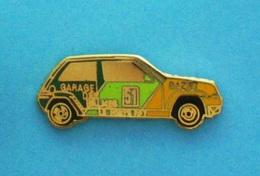 1 PIN'S //   ** RENAULT 5 GT TURBO N°51 / GARAGE DES BALMES ** - Rallye