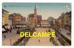 DF / BELGIQUE / HAINAUT / CHARLEROI / PLACE DU SUD : LE JEU DE BALLE / ANIMÉE - Charleroi
