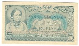 Indonesia 5 Rupiah 1952 - Indonesia