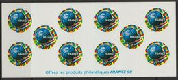 068 - 1998 - FRANCE - BOOKLETS - CARNETS - WORLD FOOTBALL CUP - COUPE DU MONDE 98 - Y&T # BC 3140 NEUF ** 15 € - Carnets