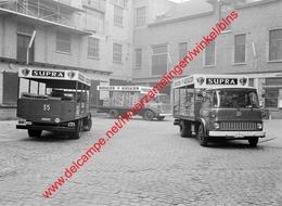 Vrachtwagens Supra Bier In 1965 - Photo 13x18cm - Mechelen Brouwerij Supra Camion Bedford - Coches
