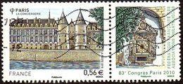 Oblitération Moderne Sur Timbre De France N° 4494 ** Monument à PARIS - La Conciergerie - 83ème Congrès De La FFAP - Usati