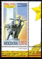 """(WK-Alb1) Moldawien, Mi 510, """"WWII - 60 Jahre Kriegsende""""  ** Postfrisch - Moldawien (Moldau)"""
