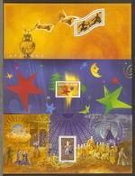France 2004/6 - Petit Lot De 3 Feuillets MNH  - J.O. D'Athènes - Meilleurs Voeux - La Flûte Enchantée/Mozart - SANS Bloc - Blocks & Kleinbögen