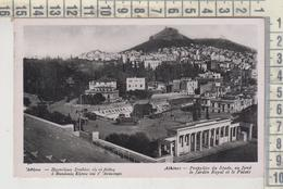 Athenes, Propylees Du Stade  Au Fond Le Jardin Royal 1956 - Greece