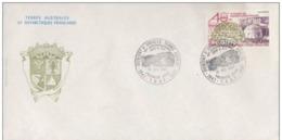TAAF FDC DUMONT D URVILLE 1987 40EME ANNIVERSAIRE DES EPF YVERT N°102 - FDC