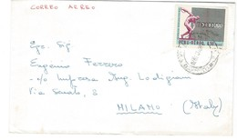 COVER CORREO AEREO PEROU - MILANO - ITALIA.- 1970 - Peru