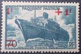 "R1692/771 - 1941 - PAQUEBOT "" PASTEUR "" - N°502 NEUF* - France"