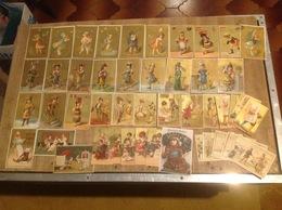 Lot De 9 Cpa Et 69 Chromos - ENO - Cartoline