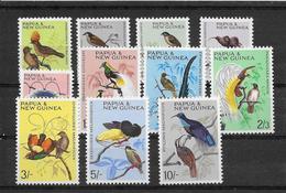 Papouasie Nouvelle Guinée N°62/72 - Oiseaux - Neuf ** Sans Charnière - TB - Papouasie-Nouvelle-Guinée