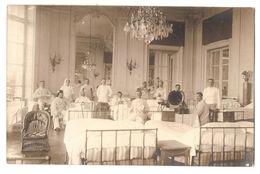 CPP 227 - CARTE PHOTO - SAINT MAXIMIN - Chateau De Laversine - Hopital Militaire 14-18 - MILITARIA - Altri Comuni