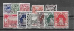 Birmanie Service N°14/25 Sauf 8 - Neuf * Avec Charnière - TB - Stamps